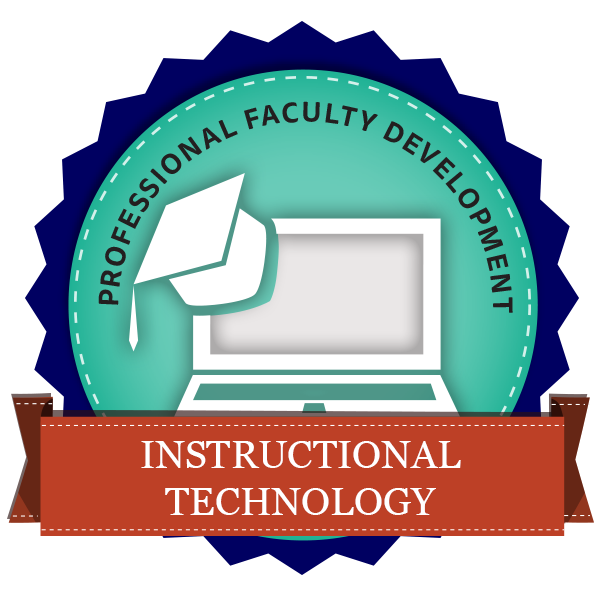 Instructional Technology - PFD