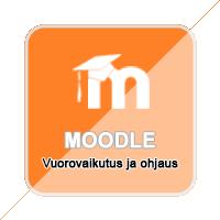 Moodle -  Vuorovaikutus ja ohjaus