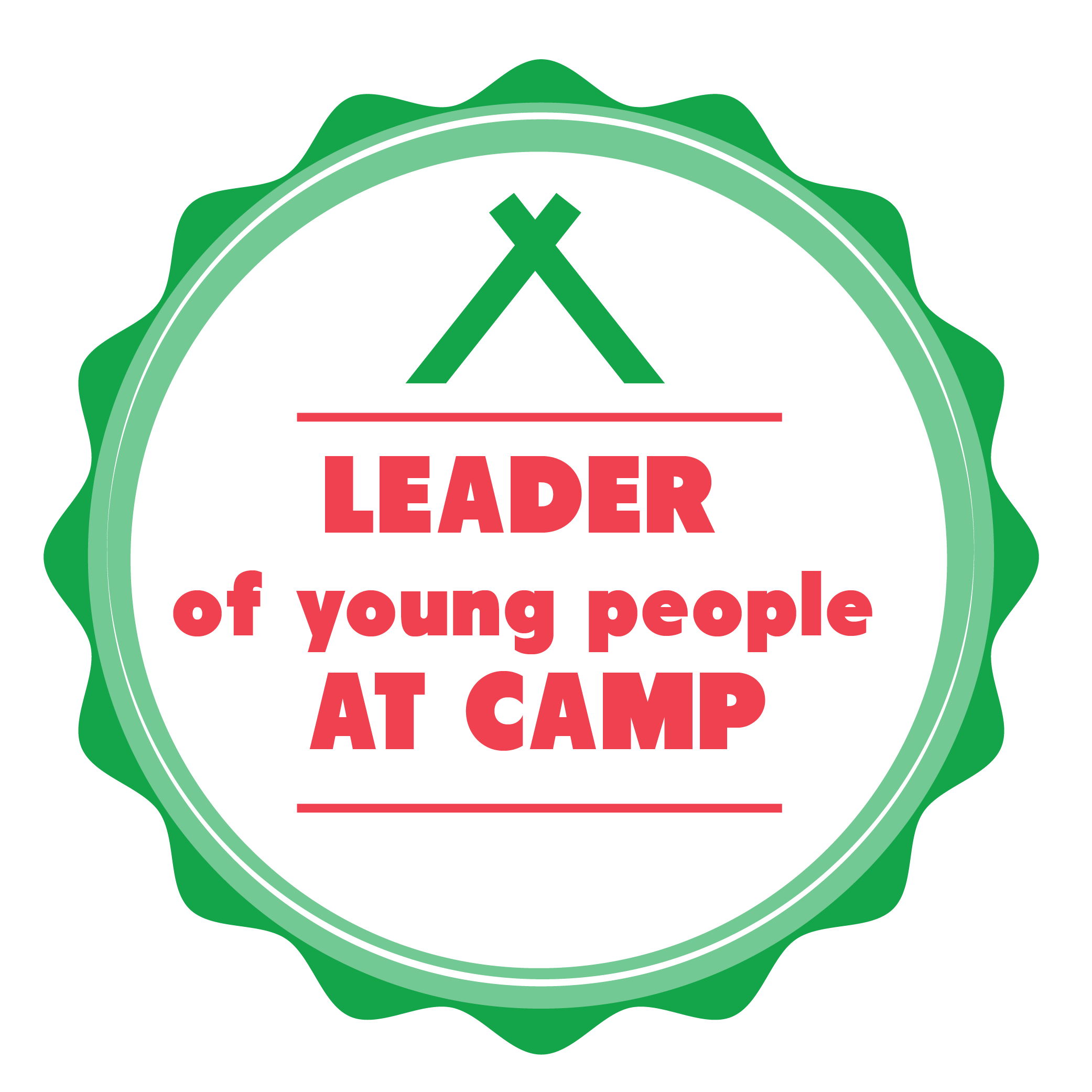 Leader of Young People at Camp
