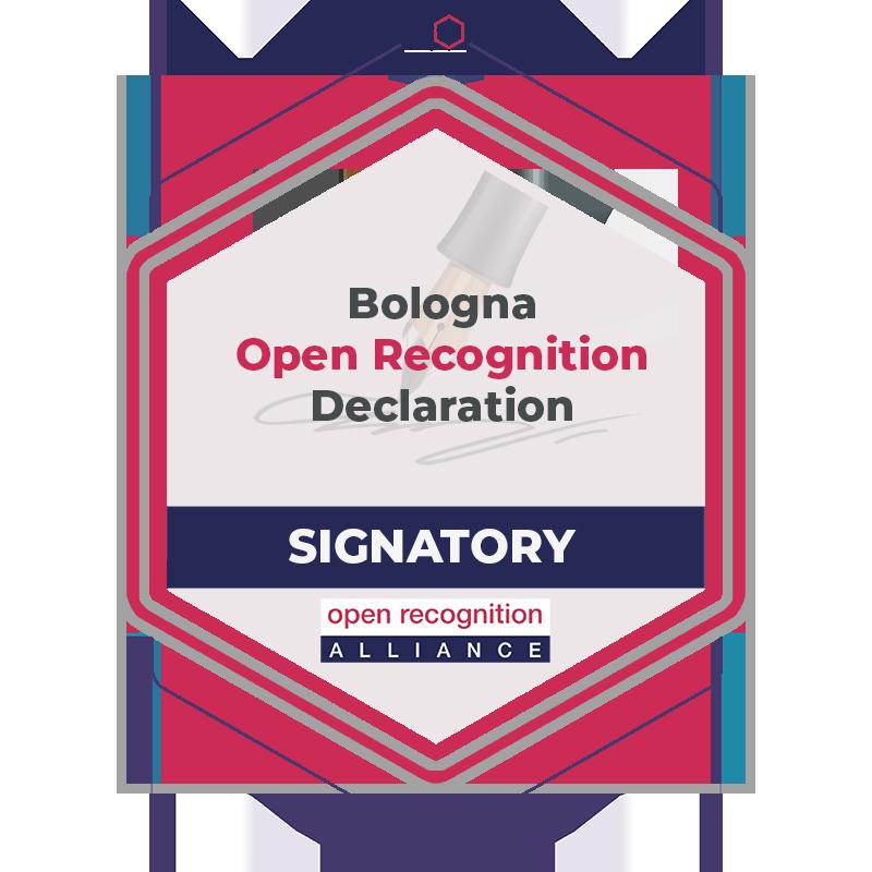 Bologna Open Recognition Declaration Signatory