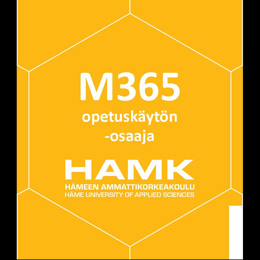 O365 opetuskäytön -osaaja
