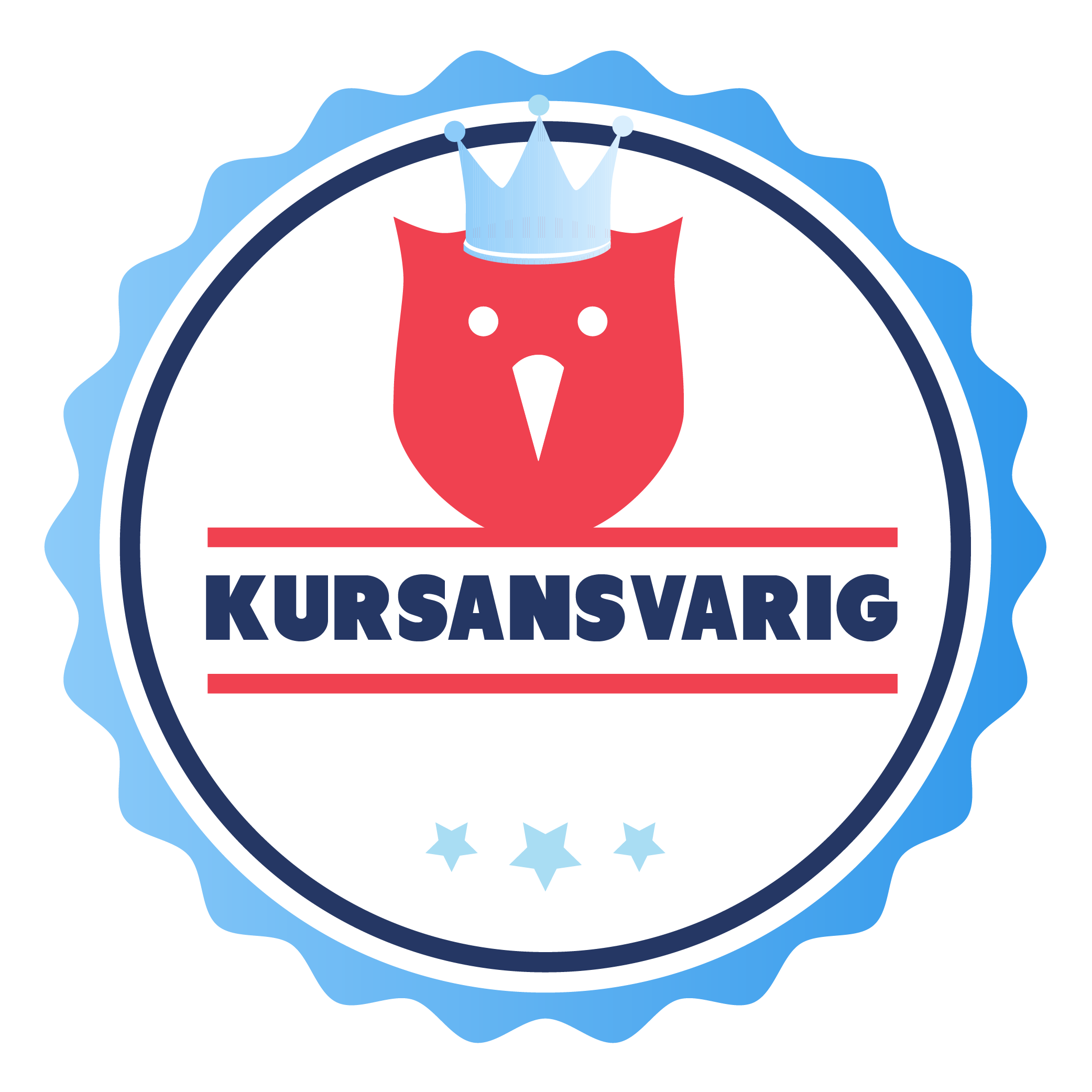 Kursansvarig