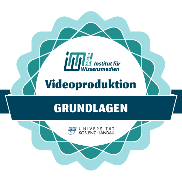Videoproduktion - Grundlagen