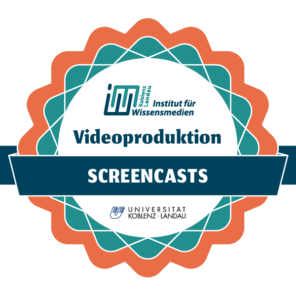 Videoproduktion - Screencasts