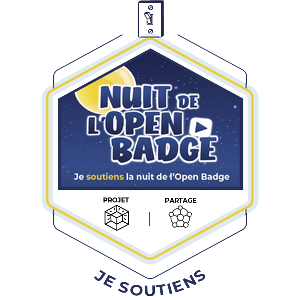 Je soutiens la nuit open badge