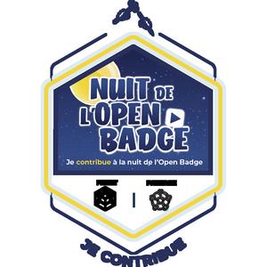 Je participe à la nuit de l'open badge