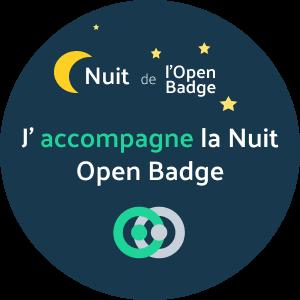 J'accompagne la nuit de l'open badge