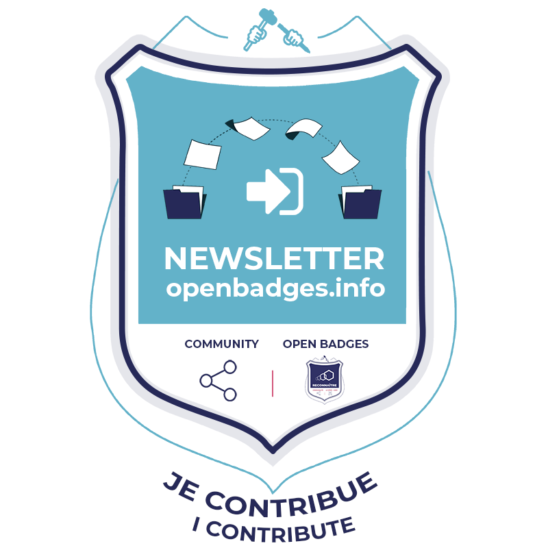 Open Badges Info : Newsletter - Contribution