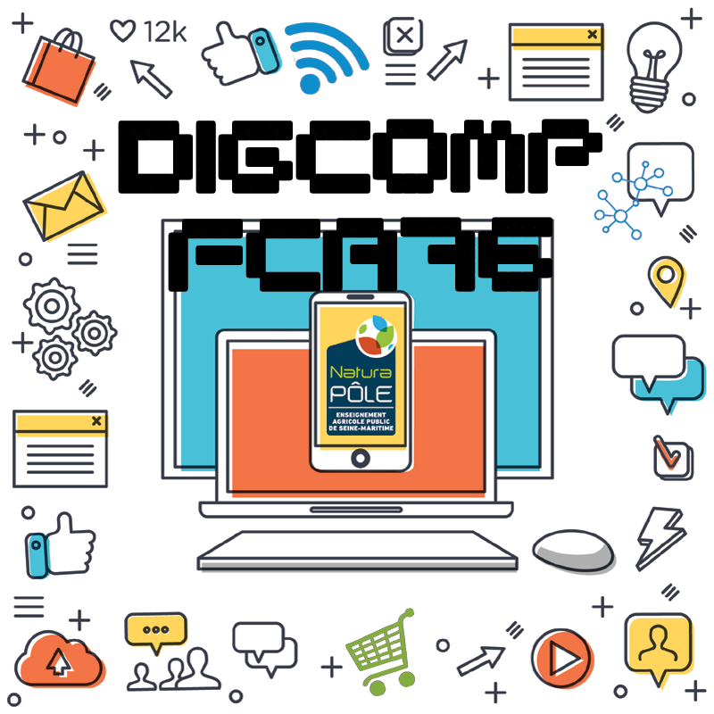 Acteur du plan DIGCOMP 2019-2022 - FCA NaturaPÔLE 76