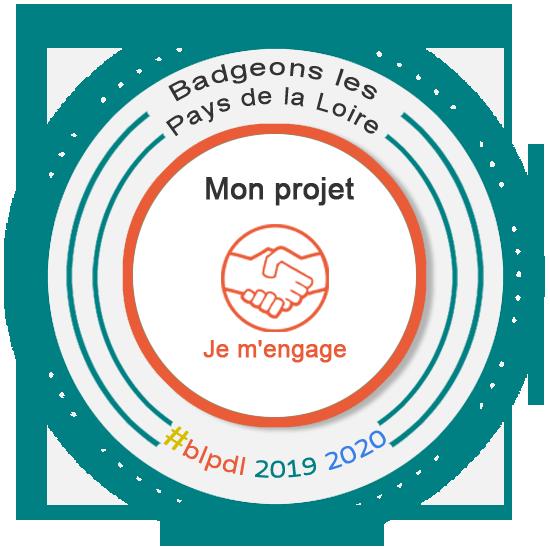Je m'engage avec Badgeons les Pays de la Loire