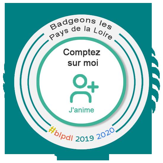 Comptez sur moi pour contribuer à l'animation du collectif Badgeons les Pays de la Loire