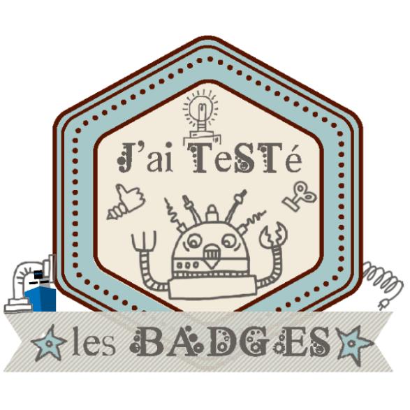 J'ai testé les open badges!