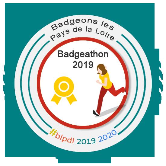 Badgeathon 2019 du collectif Badgeons les Pays de la Loire