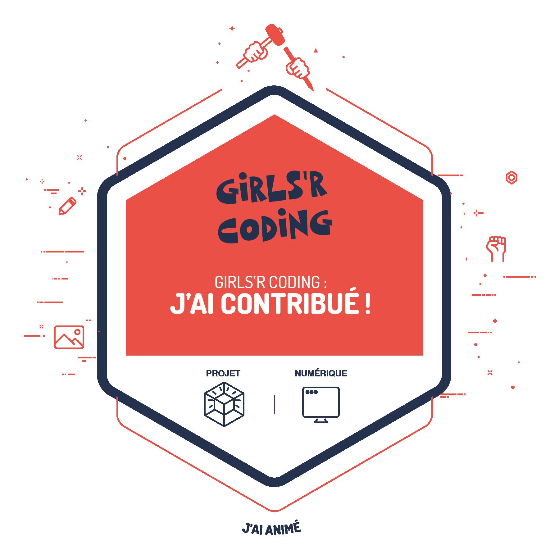 Girls'R Coding : J'ai contribué !