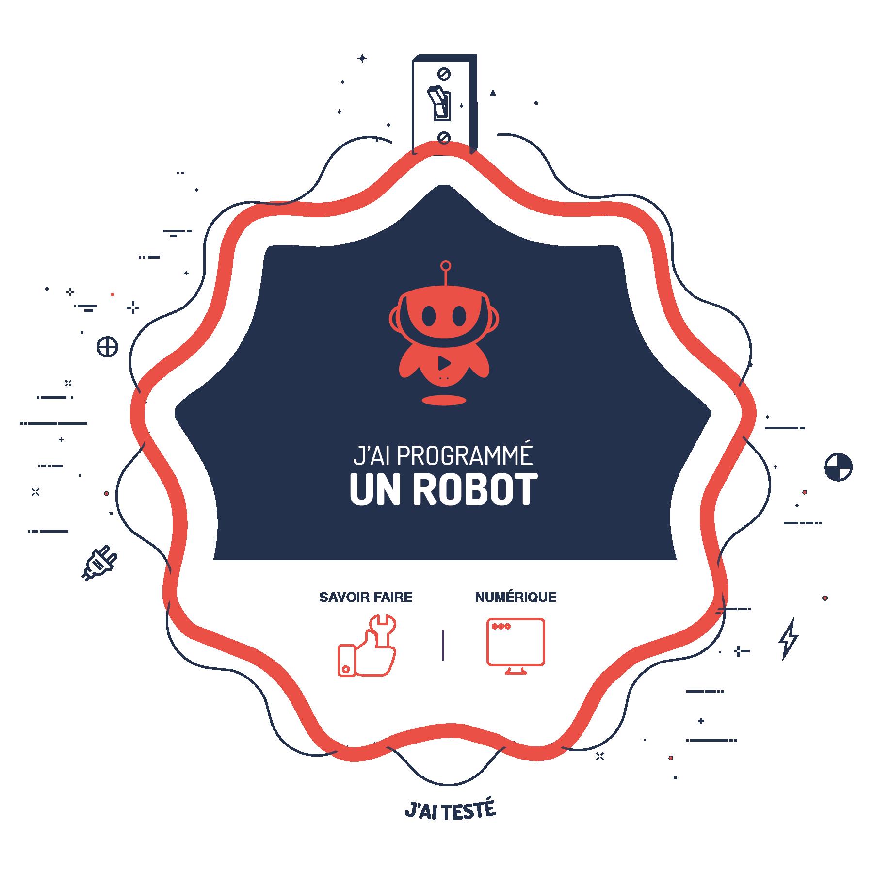J'ai programmé un robot