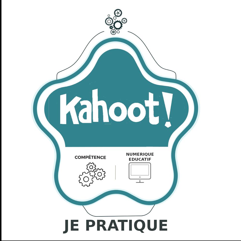 Kahoot : Je pratique