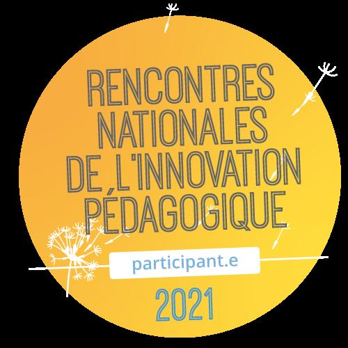 Rencontres Nationales de  l'Innovation Pedagogique 2021