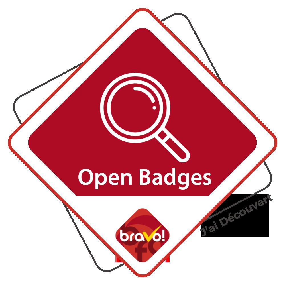 J'ai découvert les Open Badges